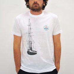 T-Shirt Blanc Ocean Homme